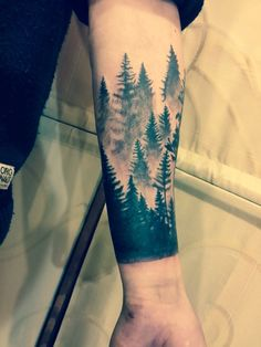 #sleeve #tattoo #forrest