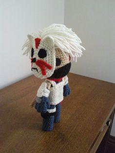 Anbu Kakashi of Naruto Sackboy by Sackboyncostume.deviantart.com on @DeviantArt