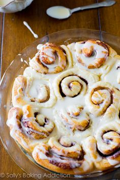 My BEST ever Cinnamon Roll recipe - these fluffy, gooey cinnamon rolls are made from scratch and are a great recipe for beginners!