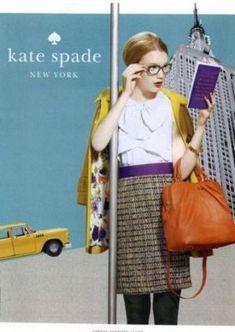 Kate Spade Ad Campaign Spring Summer 2011- www.myLusciousLife.com
