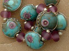 DSG Lampwork Beads Organic Handmade Glass A Touch of Magic | eBay