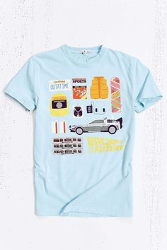 Junk Food Back To The Future Icon Tee - Urban Outfitters