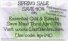 Spring Sale Save 40%!  #GrowinNLovintheBIZ #Entrepreneurs