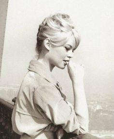 Brigitte Bardot; My inspiration behind hair and makeup :)