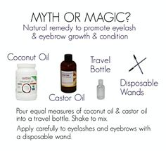 Myth or Magic Eyebrow Growth, Eyelash Growth, Diy Beauty, Beauty Hacks, Beauty Tips, Lash Conditioner, Eyelashes, Eyebrows