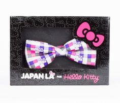Japan LA x Hello Kitty Bowtie: Checkered Plaid