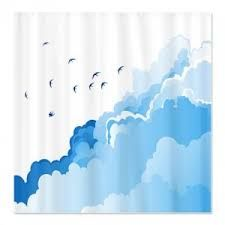 clouds shower curtain - Google Search