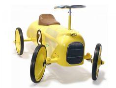 yellow baby walker