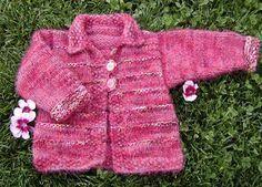 Free Knitting Pattern - Toddler & Children's Clothes: Tigger Cardigan