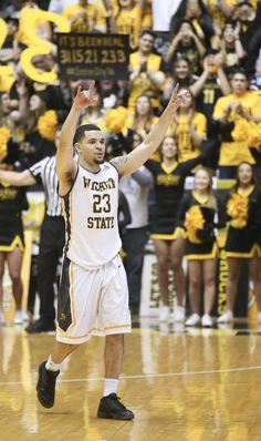 Wichita State guard Fred VanVleet walks off the Koch Arena court for the final time late in the game against Illinois State on Saturday.