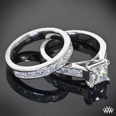 Custom Channel Set Diamond Wedding Set | 27901