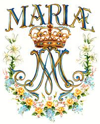 Mary Monogram Official, traditional ...