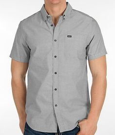 """RVCA That'll Do Oxford Shirt -T2 """" dyt pinners note"""" I love this shirt, I own it, it is comfy and the pocket blends right in"""""""