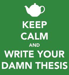 Or dissertation...:-)