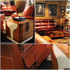 Huomaa alimmassa kuvassa taskullinen sohva!!!