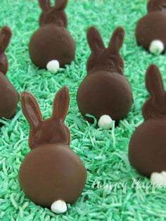 The secret to making these adorable bunny backsides? Nila Wafers!