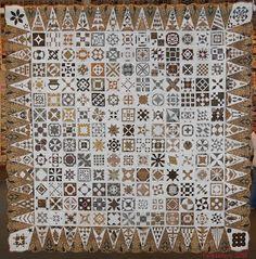 Dear Jane Quilt (Indonesian Fabrics) Annie Tromp Doornink