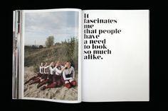 Nouvelle Vague Type by Dirk Schuster, via Behance