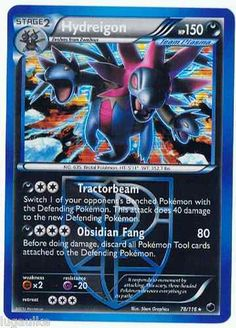 Pokemon Card Plasma Freeze Rare Holo Hydreigon 78/116 - low combined shipping