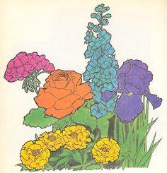 Flower Tattoo idea - ll'arc-en-ciel 006 by rickydd77, via Flickr