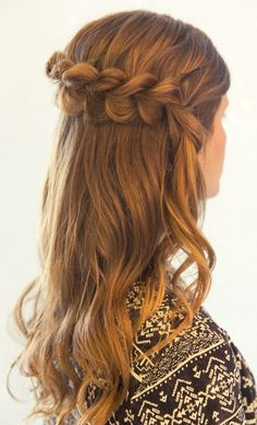 Pull Through Dutch Braid. Inspired by L'Oreal Advanced Hairstyles