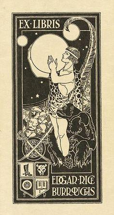 Ex Libris of Edgar Rice Burroughs