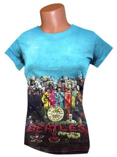 a3d2375b2fb Beatles T-shirt Sgt Pepper Album, Beatles Shirt, Beatles Gifts, The Beatles