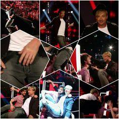 Samu Haber's Lapdance  das war so genial  ...aber wo war der Kandidat denn mit seiner Hand...