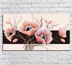 Acrylic Painting Tips, Daisy Painting, Acrylic Canvas, Canvas Art, Small Paintings, Beautiful Paintings, Painting Techniques, Painting Inspiration, Flower Art