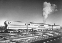 Chesapeake & Ohio M-1 steam turbine. These coal-fired turbine locomotives were complete failures in passenger service despite their impressive size and complexity. Built in 1947 by Baldwin Locomotive Works, all three were retired by 1950.