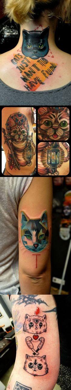 Значение татуировки Кошка или что означает тату Кошка