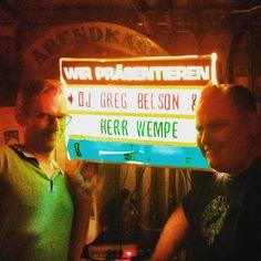 Herr Wempe a/k/a DJ Soulsonic: Danke! Thank You!