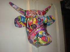"""Résultat de recherche d'images pour """"vache en papier maché"""""""