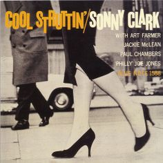 Cool Struttin, Greeting Card, Blue Note 1588, Sonny Clark, This scan is of a large format greeting card, not of my LP.