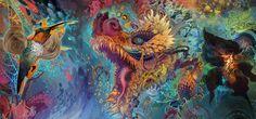 Humming Dragon  | Android Jones http://androidjones.com