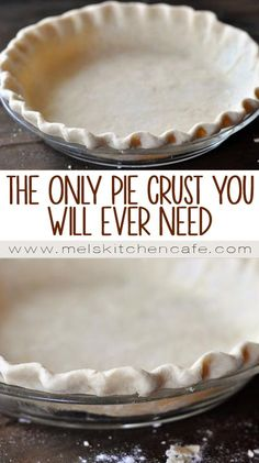 The Best and Only Pie Crust Recipe {& Tutorial} You'll Ever Need (Best Pie Crust) Best Pie Crust Recipe, Homemade Pie Crusts, Pie Crust Recipes, Pastry Recipes, Baking Recipes, Single Pie Crust Recipe, Pumpkin Pie Crust Recipe, Best Pastry Recipe, Healthy Recipes