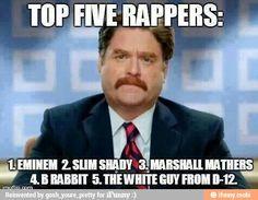 Eminem ||||| Slim Shady www.eminem-planet.de LOL my top 5 rappers