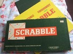 Scrabble was born in 1955