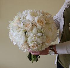 Hydrangea, Peony, and Rose Bouquet