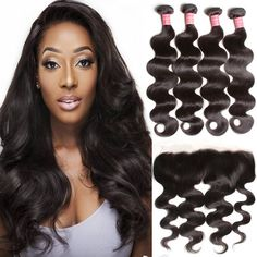 Kind-Hearted Ishow Water Wave Bundles With Frontal Peruvian Hair Bundles With Closure Ear To Ear Lace Frontal Closure With 3 Bundles Non Remy Be Shrewd In Money Matters Hair Extensions & Wigs 3/4 Bundles With Closure
