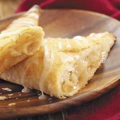 Need winning dessert recipes? Get contest winning dessert recipes for your next meal from Taste of Home. Find winning dessert recipes including cakes, cookies, and more winning dessert recipes. Apple Turnover Recipe, Apple Turnovers, Apple Pie, Blueberry Turnovers, Apple Tarts, Scones, Just Desserts, Delicious Desserts, Yummy Food