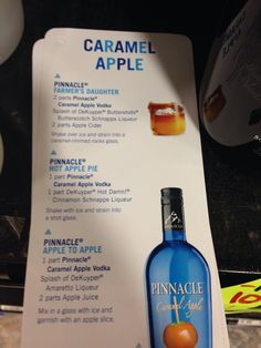 Pinnacle caramel apple vodka drink mix recipes