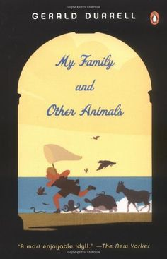 """""""My Family and Other Animals"""" by Gerald Durrell. I loved this book. Hysterically funny, evocative, and informative. This is Durrell's story of his boyhood on Corfu with his eccentric family. Think Cheaper by the Dozen, with a heavy dose of animals and some P.G. Wodehouse or Jerome K. Jerome. Can't wait to read his other books."""