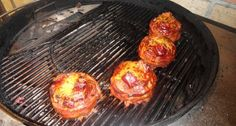 Beer Can Burgers - GrillMarked