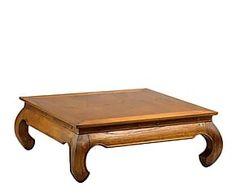 Mesa de centro en madera de mindi Opium