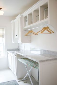 Best 20 Laundry Room Makeovers - Organization and Home Decor Laundry room organization Laundry room decor Small laundry room ideas Farmhouse laundry room Laundry room shelves Laundry closet Kitchen Short People Freezer Shiplap Kitchen Dining Living, Room Design, Home, Kitchen Decor, Room Diy, Room Remodeling, Laundry Room Remodel, Mudroom Laundry Room, Room Storage Diy
