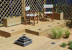 All our garden decking boards carry our 25 year guarantee, which means they are protected from rot and insect attack #decking #garden #timber