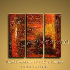Hand-painted Astonishing Modern Abstract Painting Wall Art Interior Design. In Stock $138 from OilPaintingShops.com @Bo Yi Gallery/ ops1066