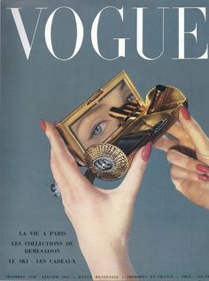 Vintage Vogue Cover via A Lovely Being Mode Collage, Aesthetic Collage, Aesthetic Vintage, Aesthetic Photo, Aesthetic Pictures, Collage Kunst, Wall Collage, Vogue Vintage, Vintage Vogue Covers