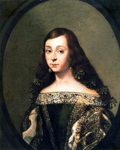 Portrait of a girl by Claudio Coello, unknown date, possibly late 17th century